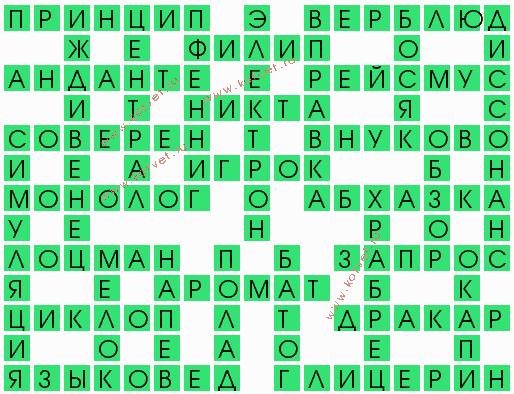 оборванец 5 букв ответ - фото 11